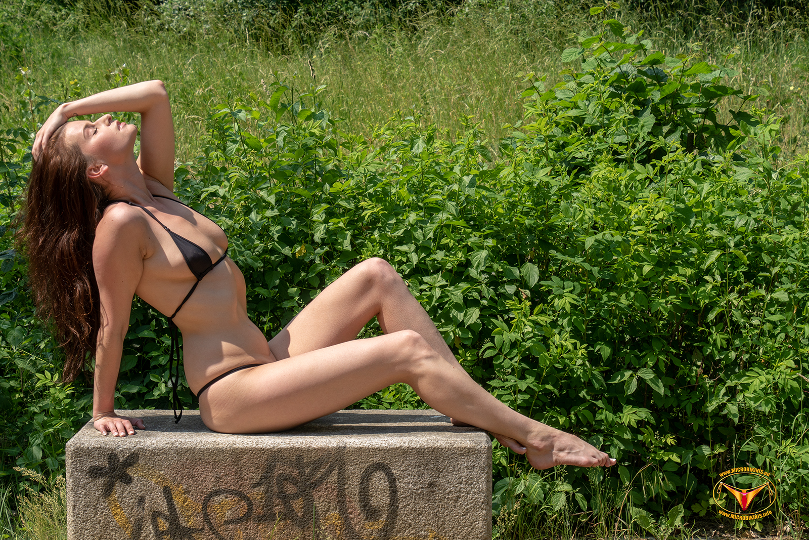 Microbikinis Bikinigirl, Micro Bikini Model Kamilka Bikinigirl from the Czech Republic