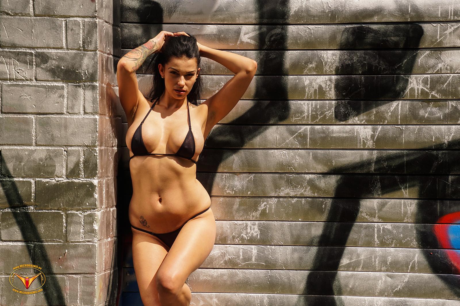 Microbikinis Bikinigirl, Micro Bikini Model Irca Bikinigirl from Berlin