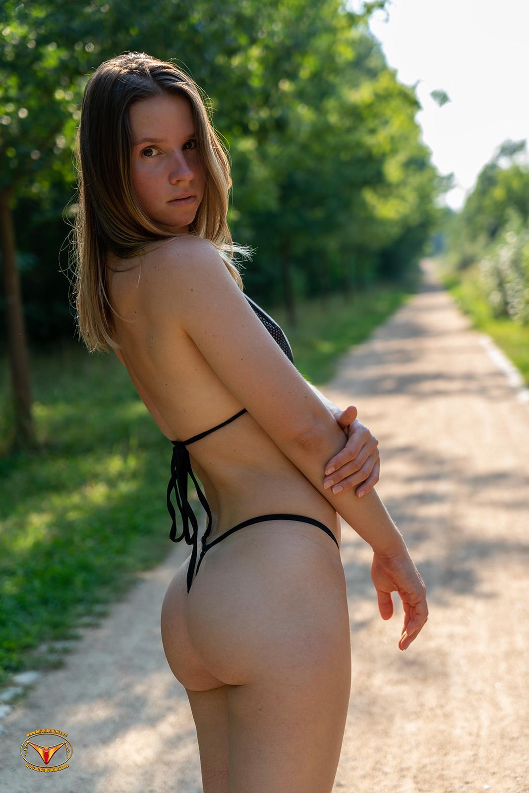 Bikinigirl, Micro Bikini Model Dominika Dodo Bikinigirl from Prague